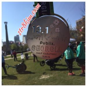 Publix Georgia Half Marathon Medal